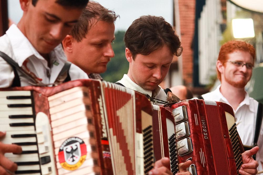 Desfile da Oktoberfest, em Blumenau