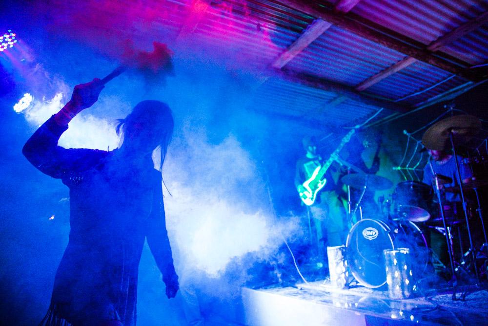 Show da banda Os Skrotes em São Francisco do Sul