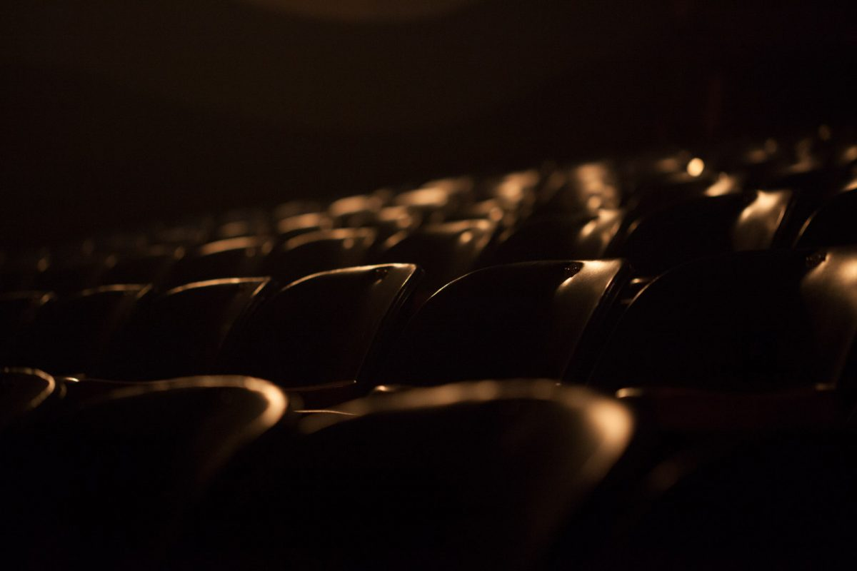 Cadeiras Pequeno Auditório Teatro Carlos Gomes, Blumenau