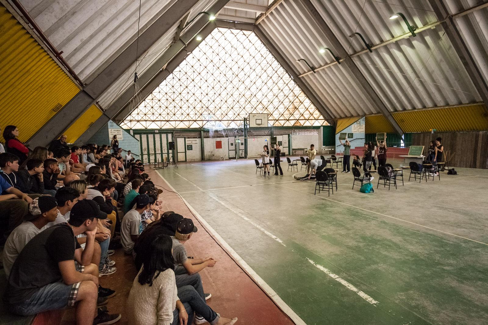 Manifesto Prometeu (Grupo Prometeu - Teatro Escola Macunaíma – São Paulo)