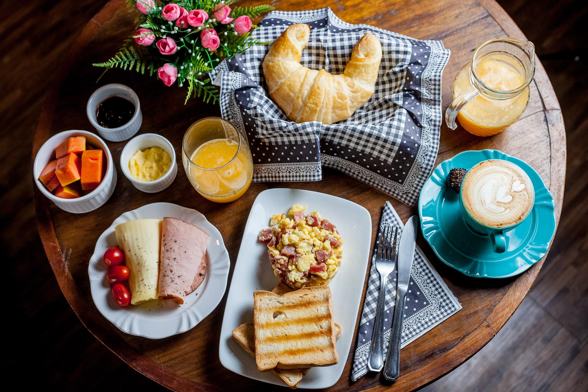 Brunch especial e completo para o café da manhã